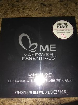 Eye shadow kit with pair of eyelashes & glue for Sale in Pittsburgh, PA
