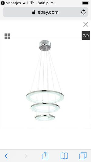 Galaxy Ceiling Light Modern Pendant Lamp LED Acrylic Chandelier Dimming Lighting price firm $100 for Sale in Hayward, CA
