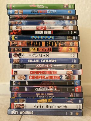 20 DVD's for $10 for Sale in Las Vegas, NV