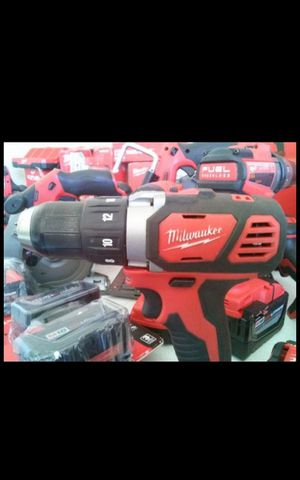 MILWUAKEE M18 CORDLESS SPEED DRILL DRIVER TOOL ONLY BRAND NEW for Sale in San Bernardino, CA