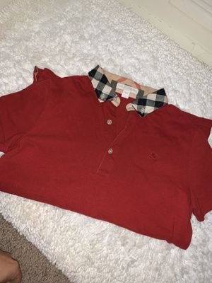Burberry polo top for Sale in Mount WASHING, OH