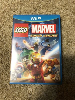 Lego Marvel Super Heroes - Wii U for Sale in Tulsa, OK