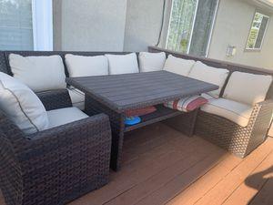 Patio Furniture Set with Umbrella for Sale in Draper, UT