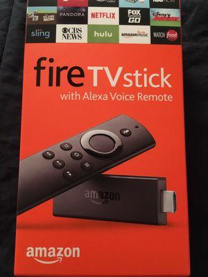 Jailbroken Amazon firestick w/voice remote for Sale in St. Louis, MO