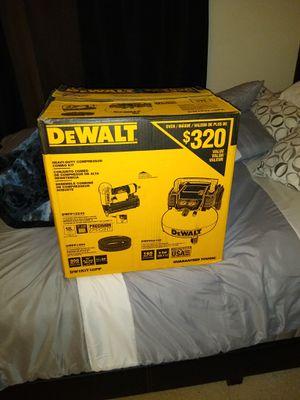 Dewalt air compressor. for Sale in Greenbelt, MD