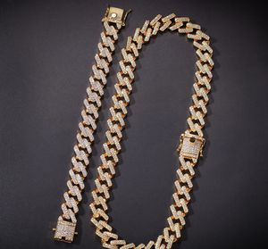 24K Gold Iced Out Cuban Link Chain for Sale in Nashville, TN