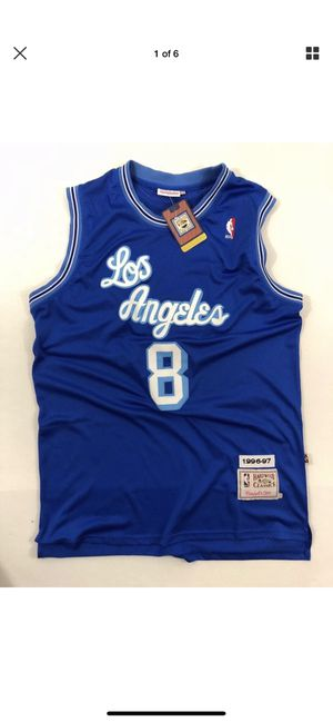 Holy grail!!! Kobe Bryant rookie jersey!! Mitchell and ness crazy fire for Sale in El Segundo, CA