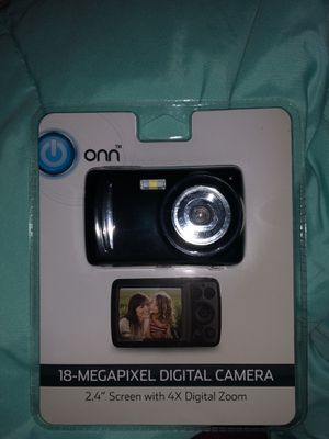 onn 18 megapixel digital camera for Sale in Pittsburgh, PA