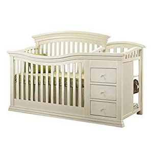Sorelle Verona 4-in-1 Convertible Crib & Changer (French White) for Sale in Lawrenceville, GA