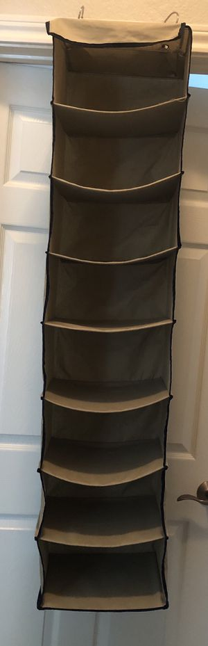 "50"" beige 8-cubby closet organizer for Sale in Colleyville, TX"