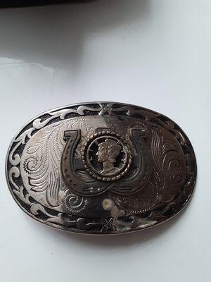 Horse shoe belt buckle for Sale in Cairo, GA