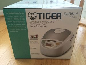 Rice Cooker - Tiger Brand, new & sealed for Sale in Alexandria, VA