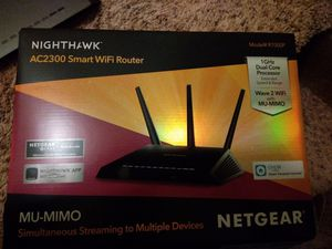brand new Pretty Much Never Used great wifi router!4 for Sale in Longmont, CO