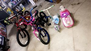 Barely used bikes and scooters for Sale in Olive Branch, MS