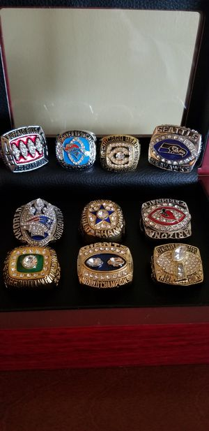 Superbowl Team Rings ..Sale for Sale in Turbotville, PA