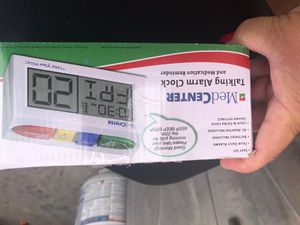 Talking alarm clock and medications reminder for Sale in Upland, CA