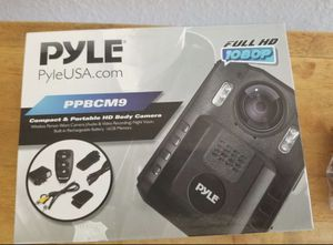 Pyle ppbcm9 compact and portable hd 1080 body camera for Sale in Huntington Beach, CA