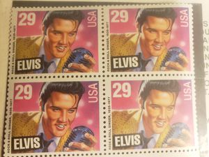 4 Elvis collectible stamps for Sale in Waynesville, MO