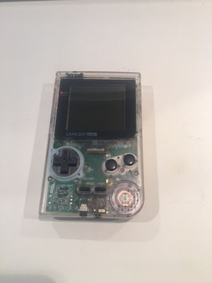 Nintendo Gameboy Clear for Sale in Woodinville, WA