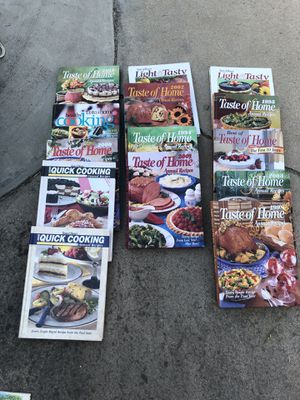 Nice cook books for Sale in Selma, CA