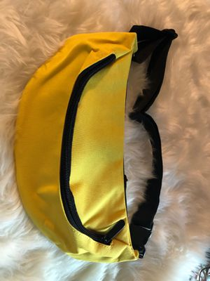 Yellow Fanny Pack Waist Belt Zip Pouch for Sale in Baton Rouge, LA