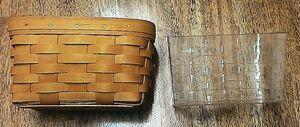$10 OBO Handwoven Longaberger basket2000 with Liner 47422 made in Dresden, OH. for Sale in Nashville, TN
