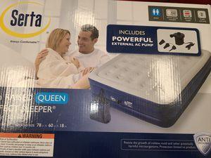 Queen air mattress with pump for Sale in Phoenix, AZ