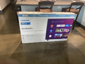 Phillips 4K 55 inch tv for Sale in Richmond, VA