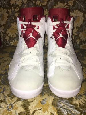 Nike Air Jordan Retro 6 VI Alternate Hare White Red Grey Men's 10.5 for Sale in Olympia, WA