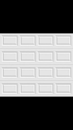 Single Garage door (insulated) excellent condition for Sale in Modesto, CA