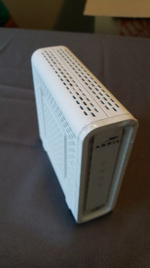 Arris surfboard model SB8200 modem for Sale in Tuscaloosa, AL