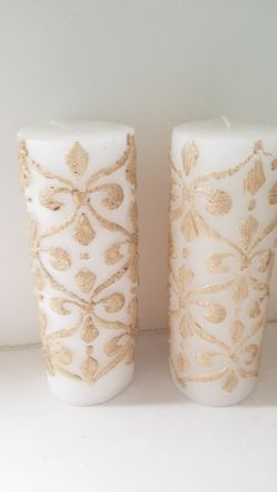 Holiday candle set of 2 for Sale in Lansdowne,  VA