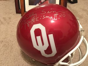 Billy Sims 78 Heisman signed OU helmet for Sale in Houston, TX