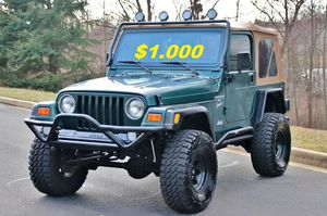 🔥🔑🔑$1000🔑🔑 For Sale URGENT 🔑🔑2000 Jeep Wrangler CLEAN TITLE🔑🔑 for Sale in Washington, DC