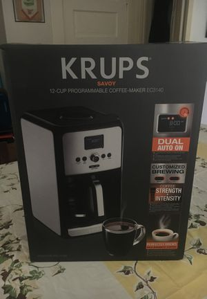 Krupps 12 cup programmable coffee maker. for Sale in Houston, TX