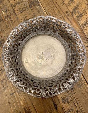 Vintage pewter sewing tray for Sale in Los Angeles, CA