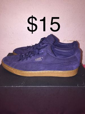 Puma Suede Size 12 for Sale in Auburndale, FL