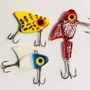 3 Vntg IKE lures for Sale in Glendale Heights, IL