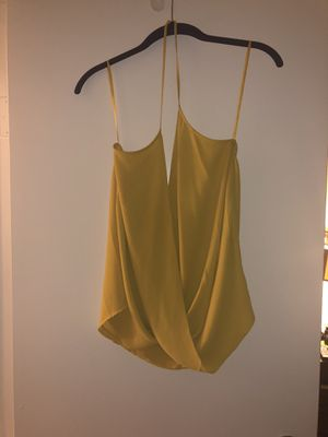 Women's Naked Zebra Yellow Halter Top Size: L for Sale in Silver Spring, MD