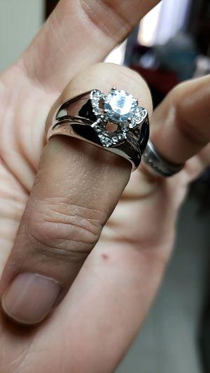 Beautiful heart shaped cubic zirconia ring for Sale in Farmville, VA
