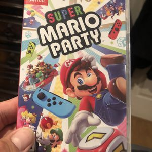 Super Mario Party for Nintendo Switch 50$$$ brand new sealed for Sale in Chula Vista, CA