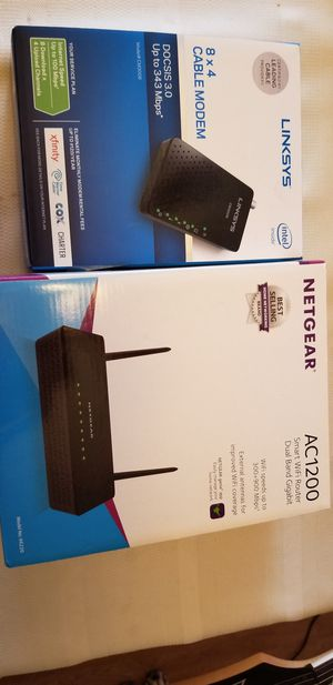 Modem and Router for Sale in Fresno, CA