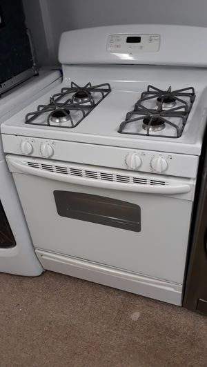 White gas stove excellent condition on sale for Sale in Laurel, MD