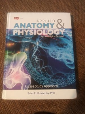 Applied anatomy and physiology 2nd edition revised for Sale in Yucca Valley, CA