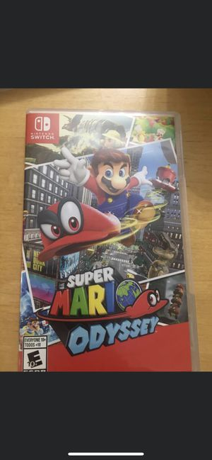 Super Mario Odyssey. sale or trade. for Sale in Dearborn Heights, MI