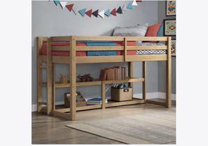 Better Homes & Garden Greer Twin Loft Bed w/ Storage Shelves for Sale in Cheltenham, PA