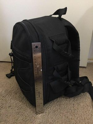 AmazonBasics Backpack for SLR/DSLR Camera and Accessories - 11 x 6 x 15 Inches, Black for Sale in Bellflower, CA