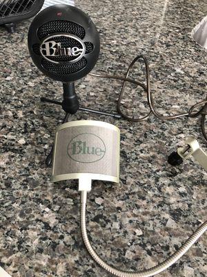 Blue Snowball USB Microphone Black Matte for Sale in St. Cloud, FL