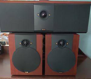 Boston Acoustic VR-M50 Bookshelfs & VR-MC Center Speakers for Sale in Davis, CA