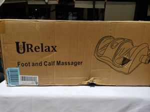 $100 URELAX FOOT AND CALF MASSAGER for Sale in Las Vegas, NV
